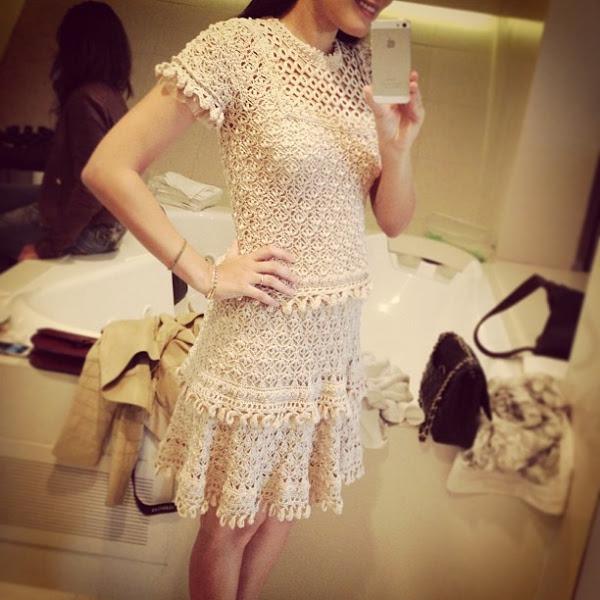 Платье от Ванессы Монторо