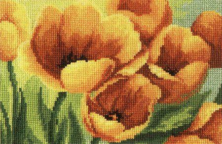 """Вышивка """"Тюльпаны"""""""