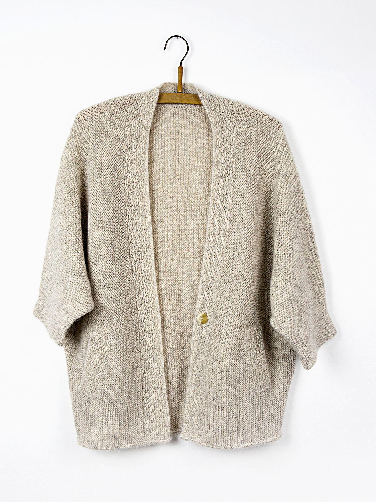 кимоно, вязание спицами, описание