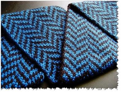 шарф, вязание спицами, схема