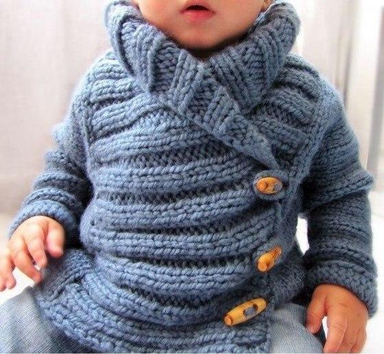 Теплая курточка для малыша