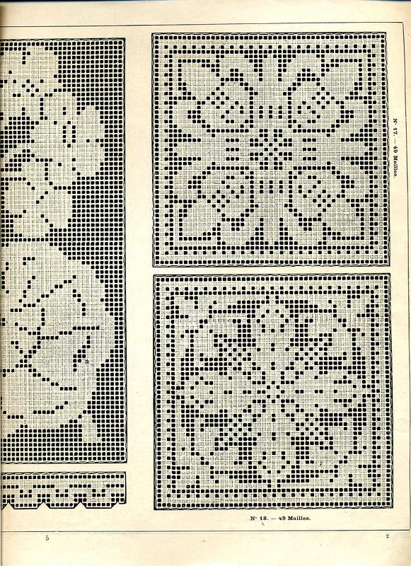 Филейное вязание - Дневник InselMAK