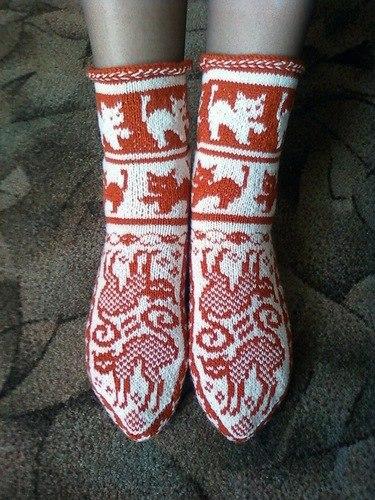 Фото узоров для вязания носков