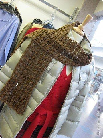 шарф, Vogue Knitting, крючком, вязаный, связать, своими руками, вязание, красивый, модный, ажурный, стильный, схема, описание, рукоделие, творчество