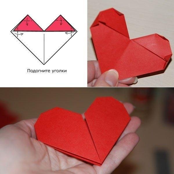 Как сделать валентинка своими руками из бумаги