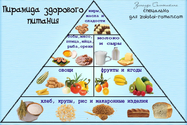 Инструкции по правильному питанию