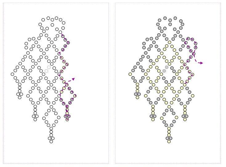 Как сделать серьги из бисера своими руками для начинающих схемы 1
