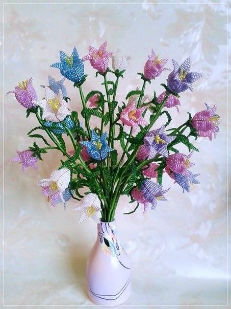 цветы, бисер, мастер-класс
