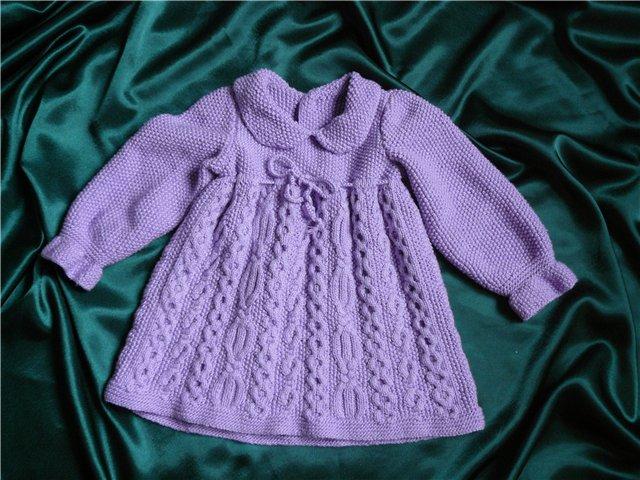 Жакет и платье для девочки