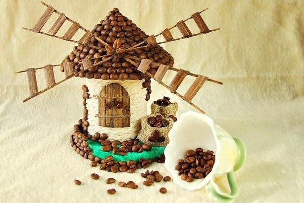 Кофейный домик-мельница