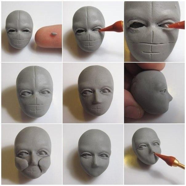 Как сделать куклу из полимерной глиной